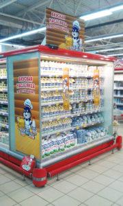 Оформление акционной точки гипермаркета